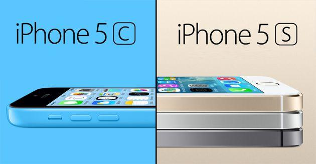 iPhone 5S vs iPhone 5C differenze