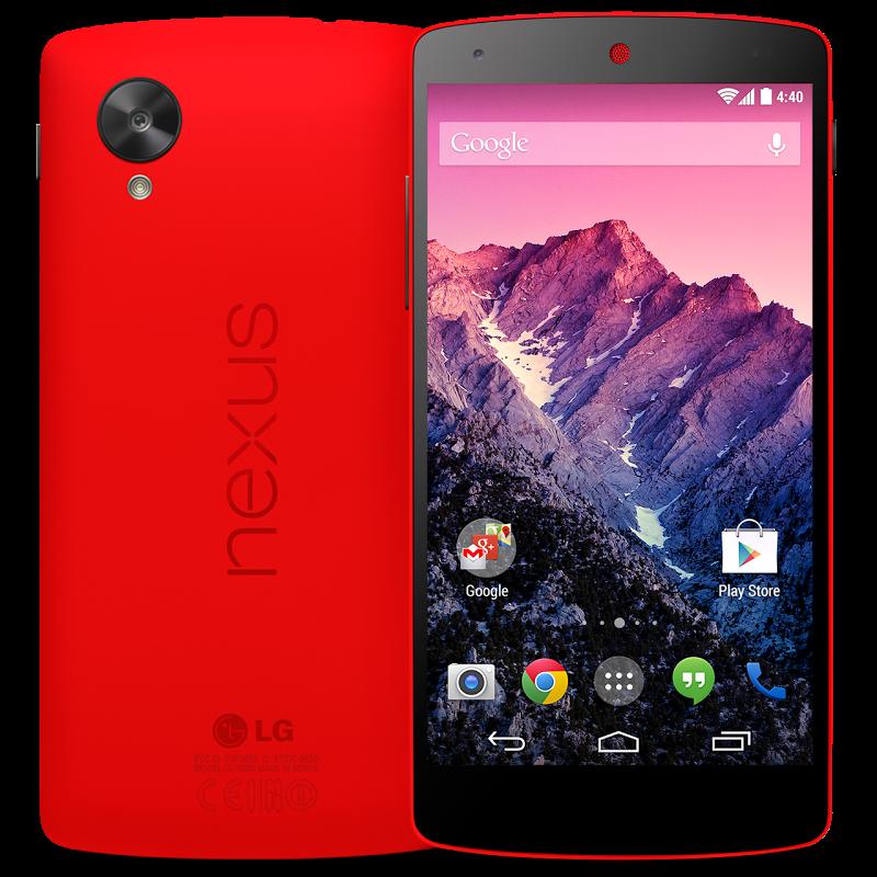 nexus 5 rosso