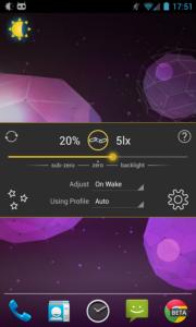 Recensione dell'app Lux Auto Brightness