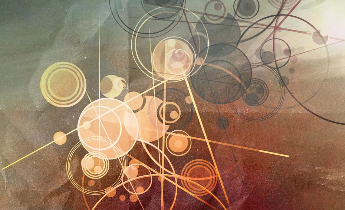 Wallpaper line circle