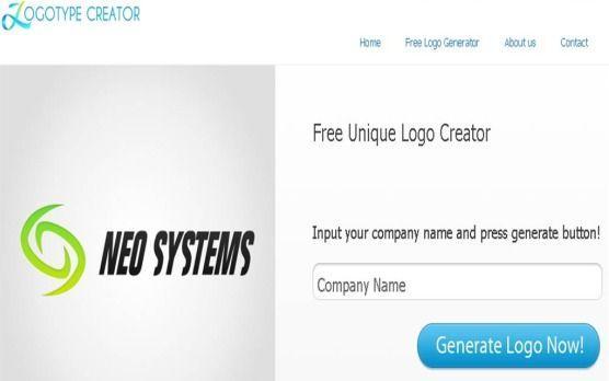 Come creare un logo online da pc Logotype Creator