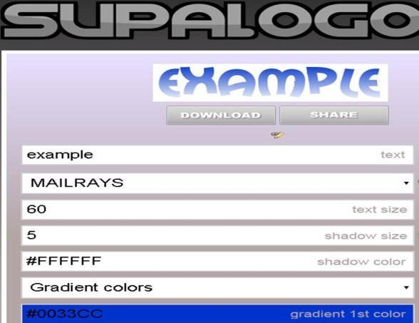 Come creare un logo online da pc SupaLogo