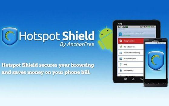 Come nascondere IP Android con HotSpot Shield VPN