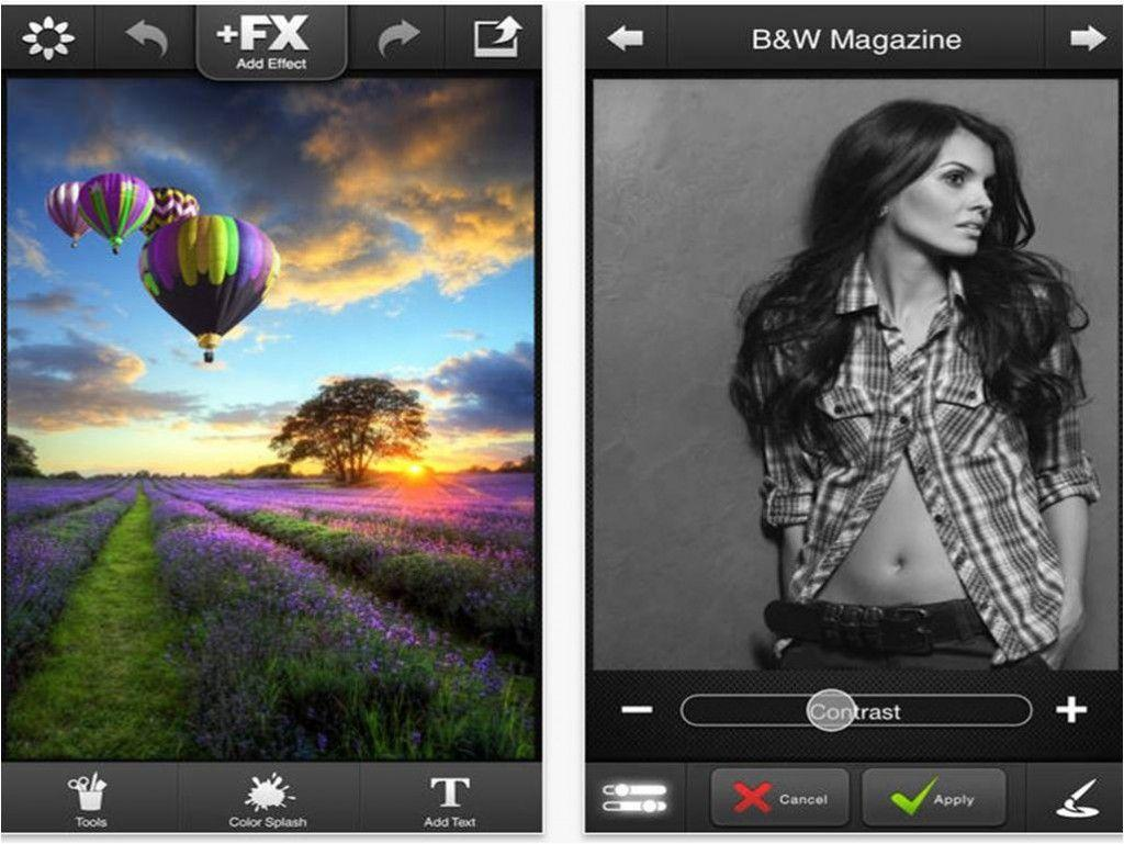 Editor di immagini per iPhone FX Photo Studio