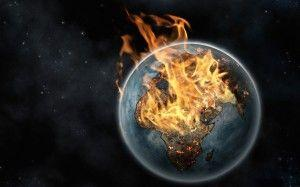 Wallpaper fire Earth