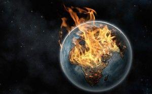 Wallpaper fire Earth