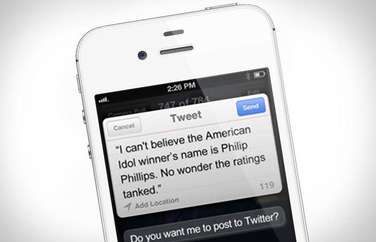 Siri dettare messaggi