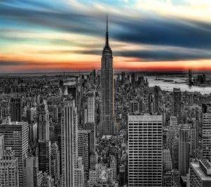 Wallpaper city skyscraper