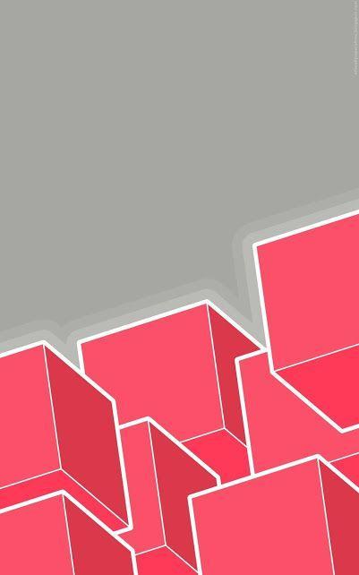 Wallpaper pink poligon