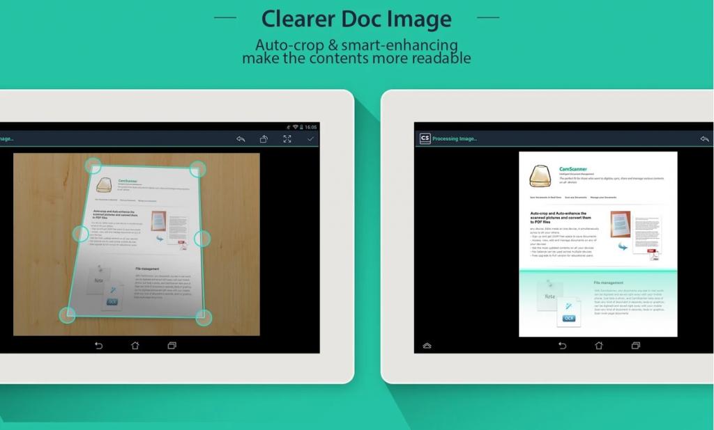 come scannerizzare documenti attraverso lo smartphone: cam scanner