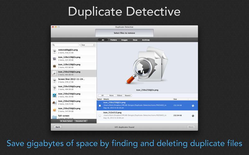 Duplicate Detective come liberare spazio su Mac