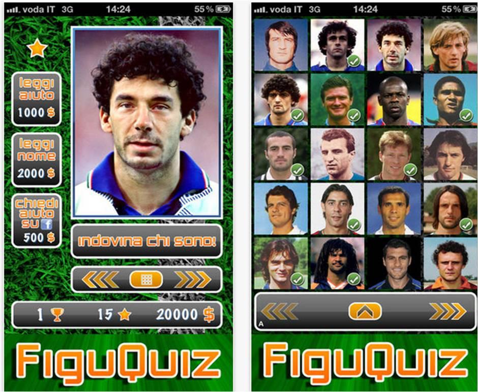 FiguQuiz migliori giochi di calcio su iPhone
