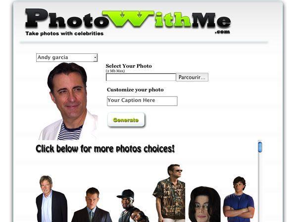 Fotomontaggi online PhotoWithMe