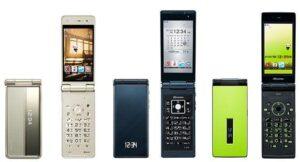 I flip-phone sono ancora amati in Giappone