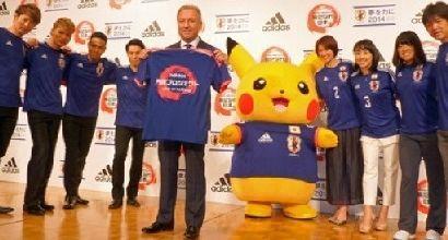giappone maglia pikachu