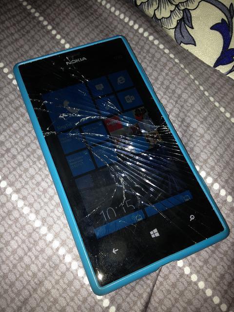 lumia 720 schermo rotto
