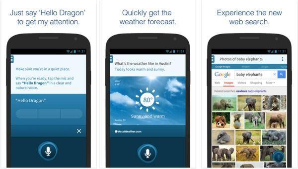 Dragon migliori assistenti vocali su Android