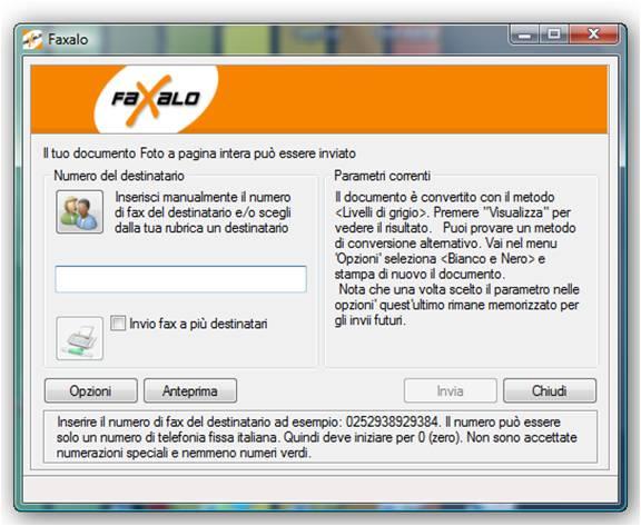Faxalo inviare fax online