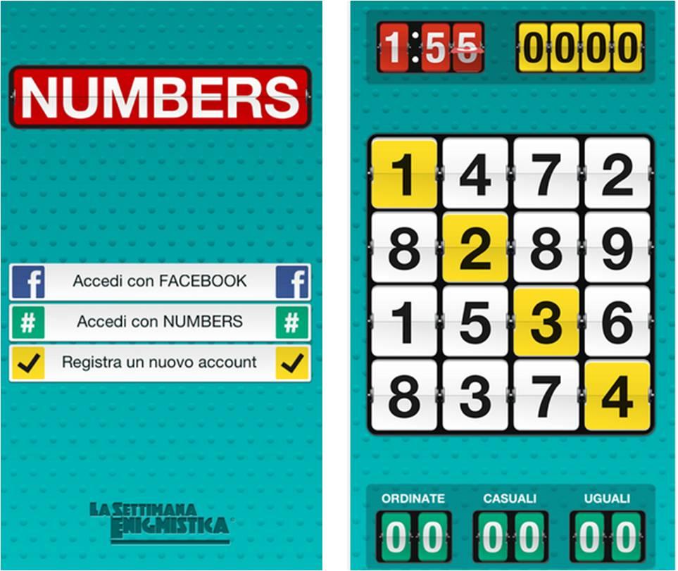 Numbers, la settimana enigmistica su Android