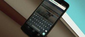 Tastiera di Android L
