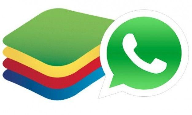WhatsApp Windows Mac BlueStacks App Player emulatore