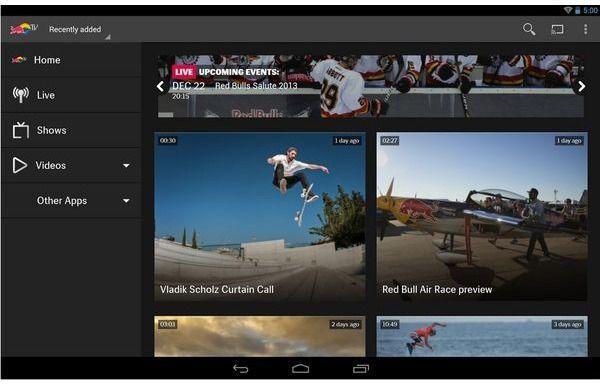 redbull tv migliori applicazioni per chromecast