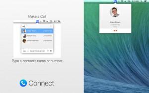 come effettuare chiamate dal vostro mac con connect