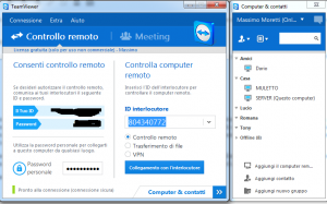 TeamViewer Controllo remoto