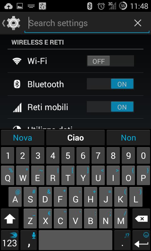 CyanogenMod impostazioni 2