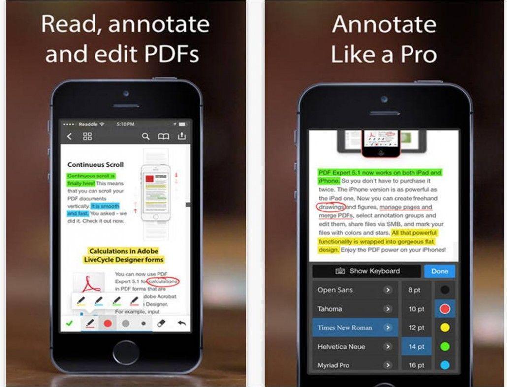 PDF Expert 5 gestire PDF su iPhone