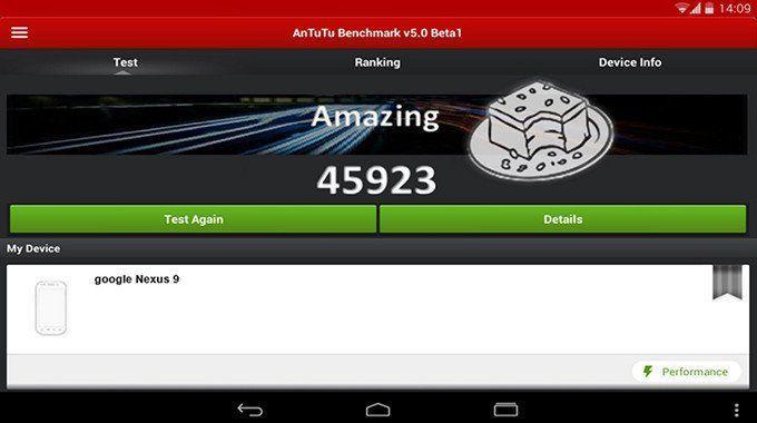 google nexus 9 antutu Nexus 9: 8.9 pollici, 64 bit e primo benchmark AnTuTu