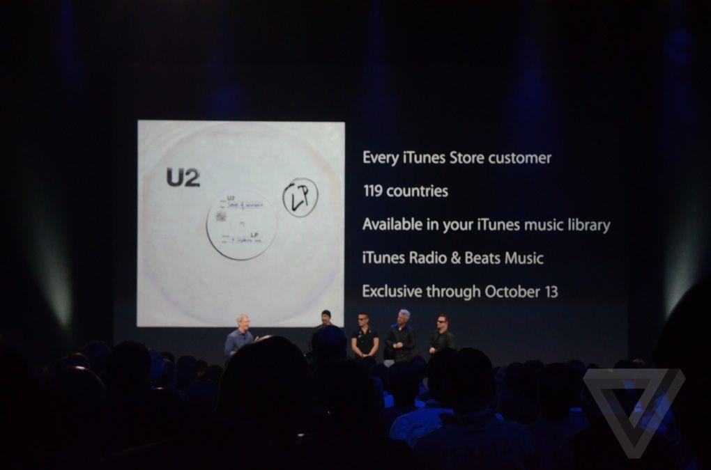 apple u2 formato musicale non piratabile
