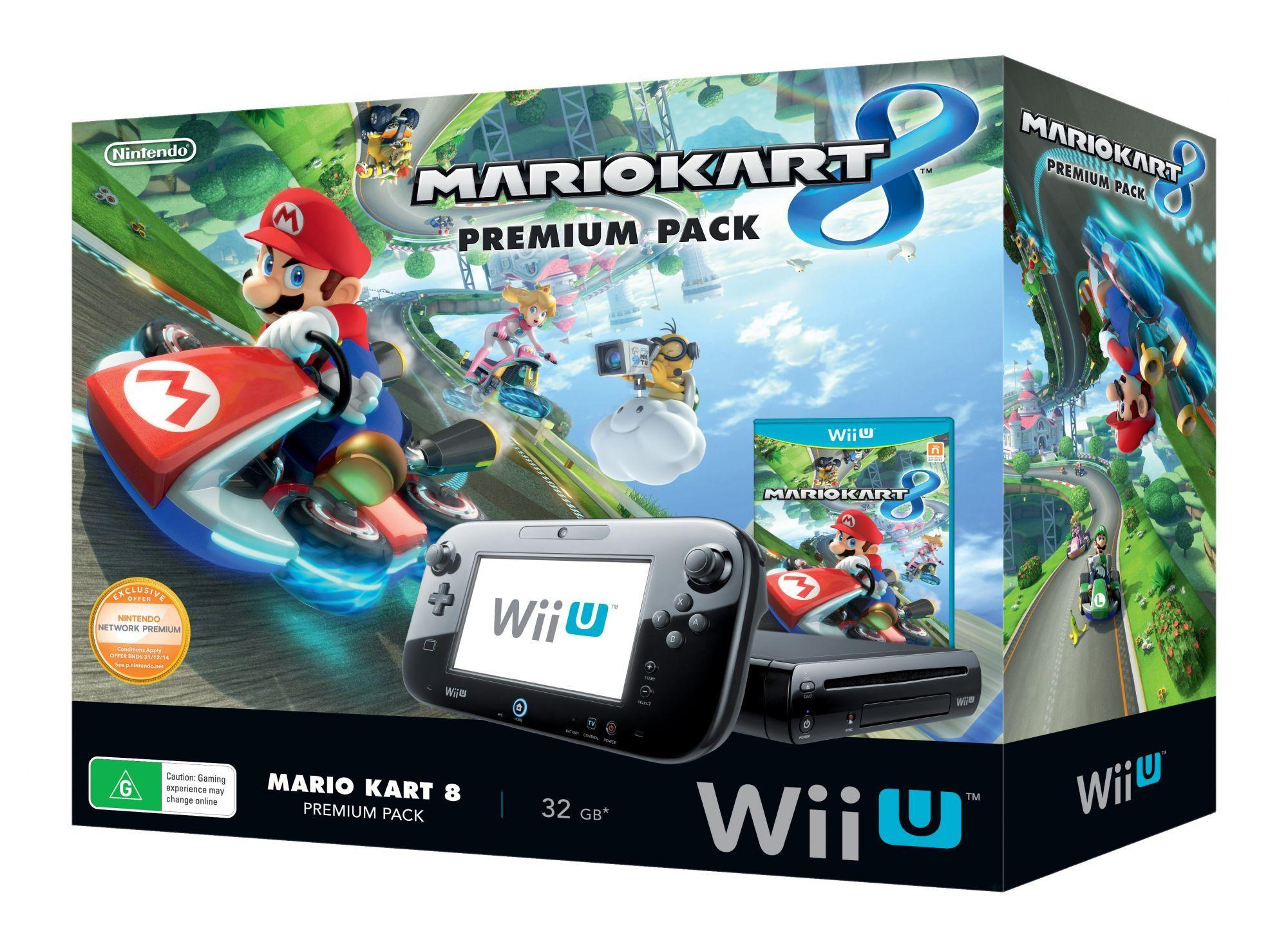 wii u premium pack mario kart 8 unboxing. Black Bedroom Furniture Sets. Home Design Ideas