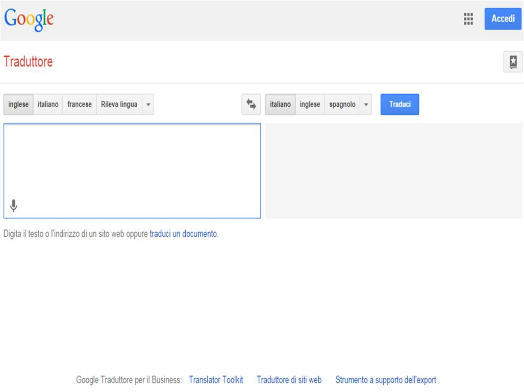 Come tradurre un PDF online con Google Translate