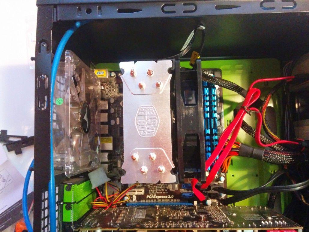 Cooler Master Hyper 212 EVO alto