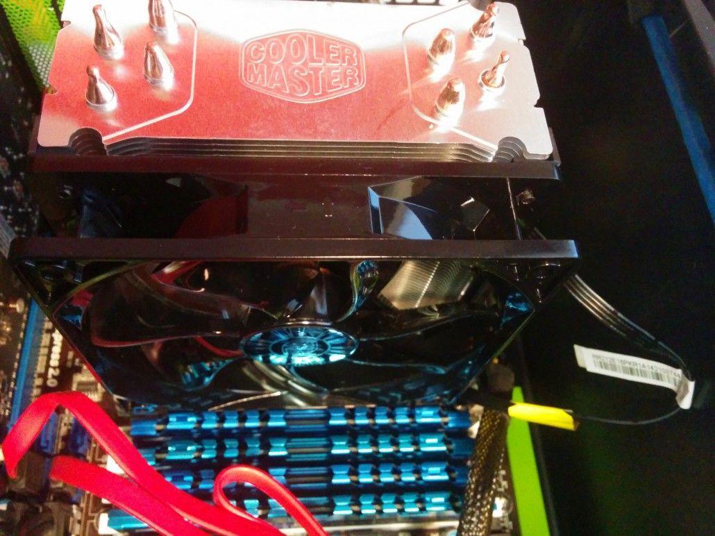 Cooler Master Hyper 212 EVO fronte