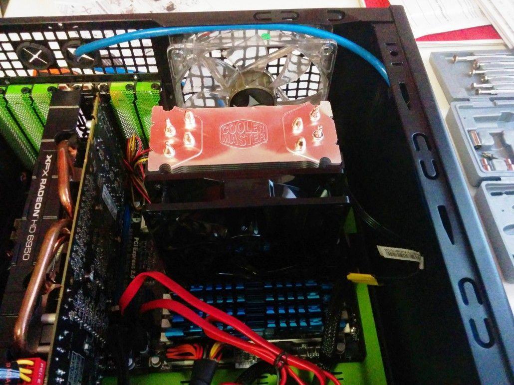 Cooler Master Hyper 212 EVO lato
