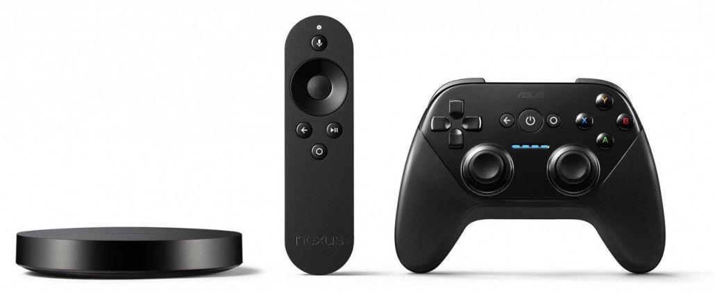 Nexus Player con telecomando e joypad