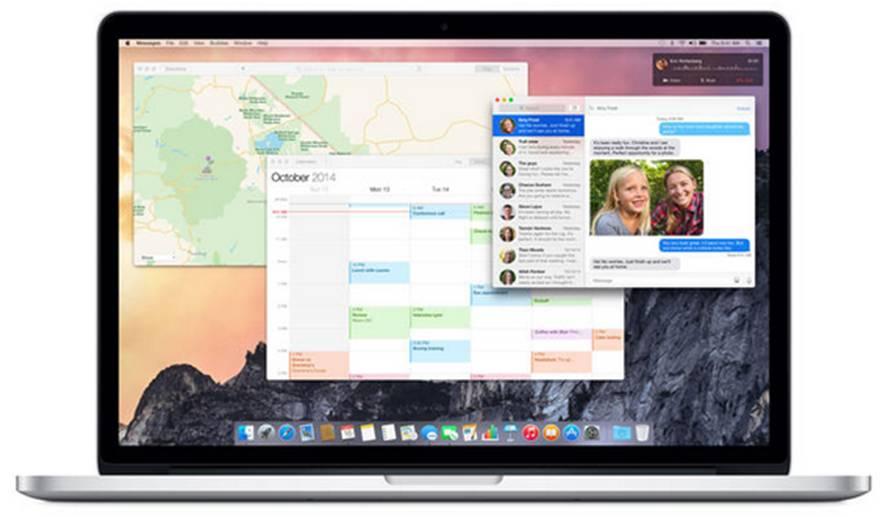 OS X 10.10 Yosemite spotlight