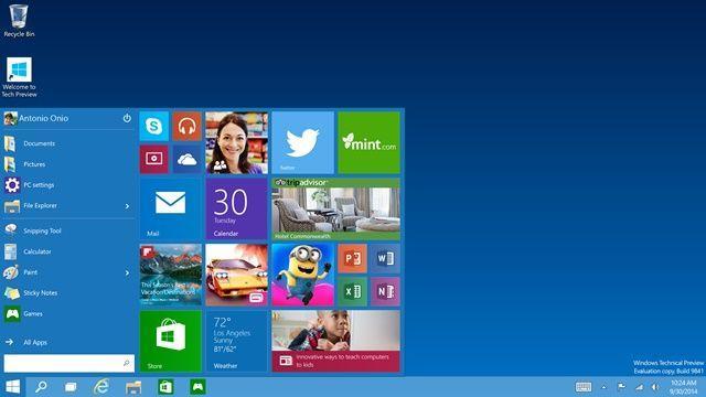 Windows_10_Tech-Preview_Start-menu