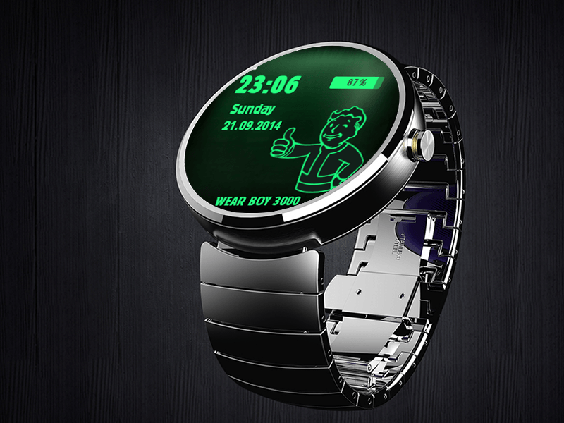 fallout pipboy android wear