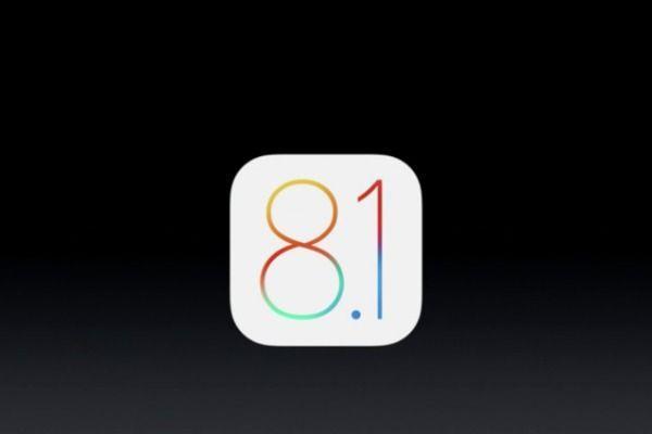 iOS 8.1 aggiornamento