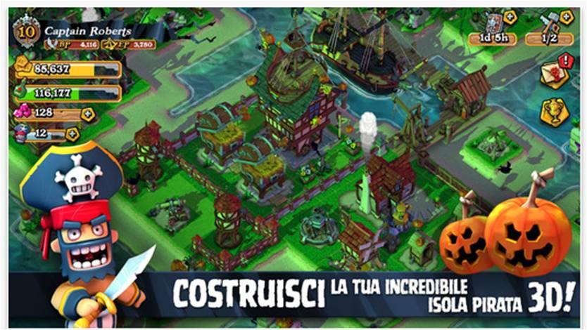 Plunder Pirates migliori giochi per iPhone 6 e per iPhone 6 Plus