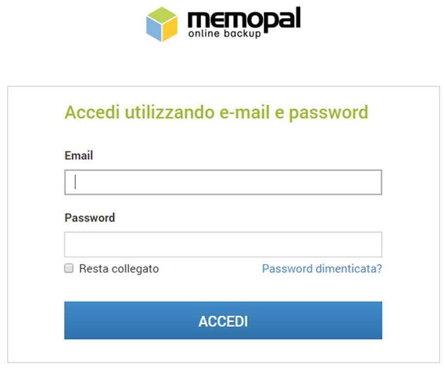 Come accedere in remoto ai file del pc con Memopal
