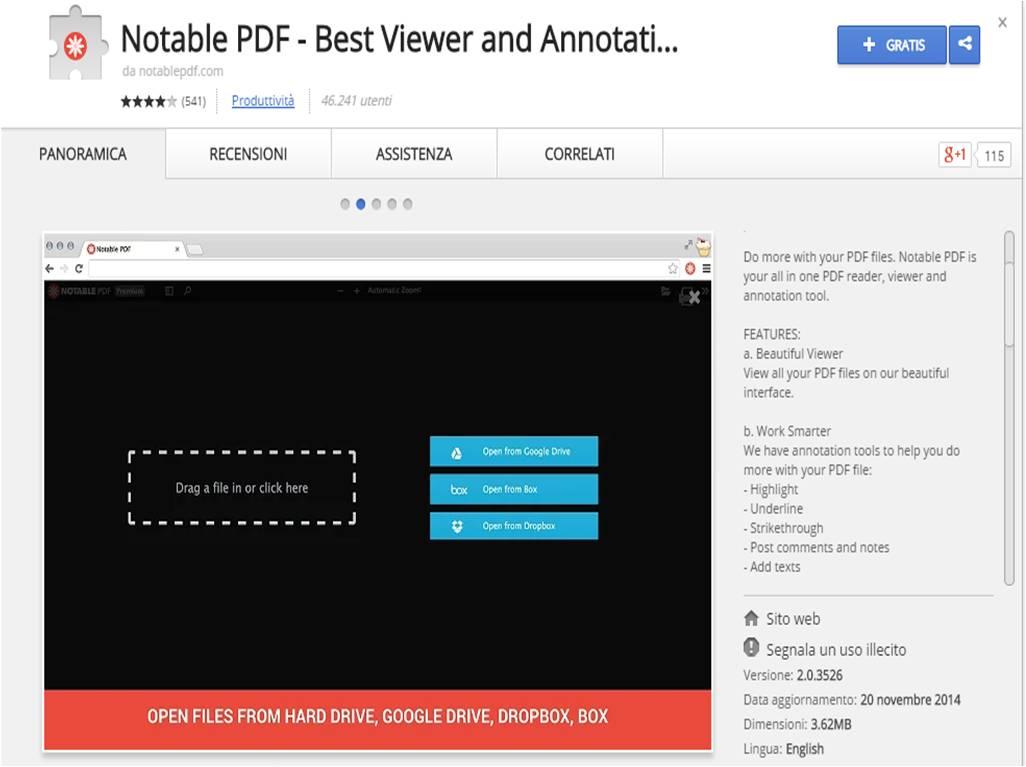 Come modificare PDF con Notable PDF