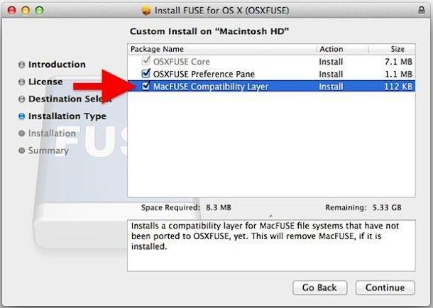 Fuse OS X