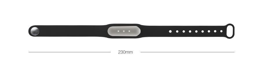 xiaomi mi band dimensioni