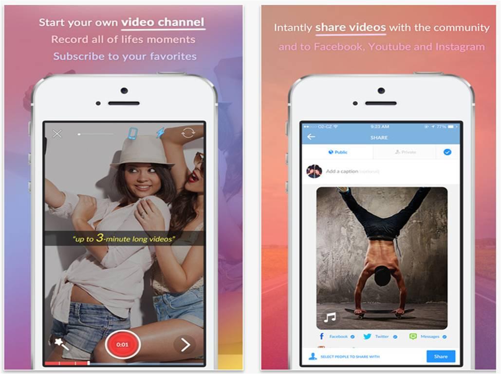 Cliptone instant messaging per iPhone