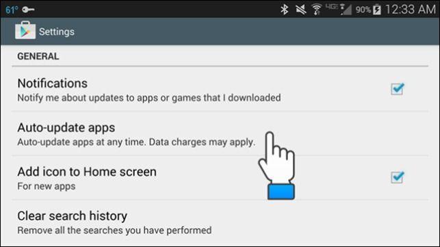 Come disabilitare aggiornamenti automatici delle app su Android