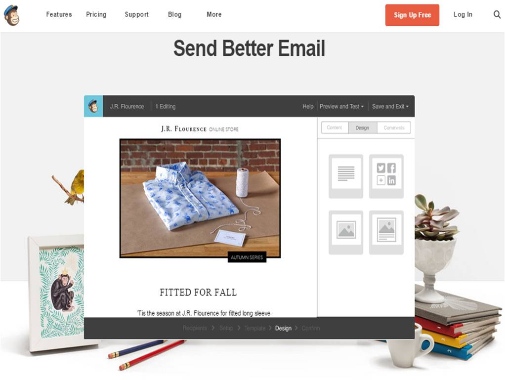 Come inviare newsletter con MailChimp